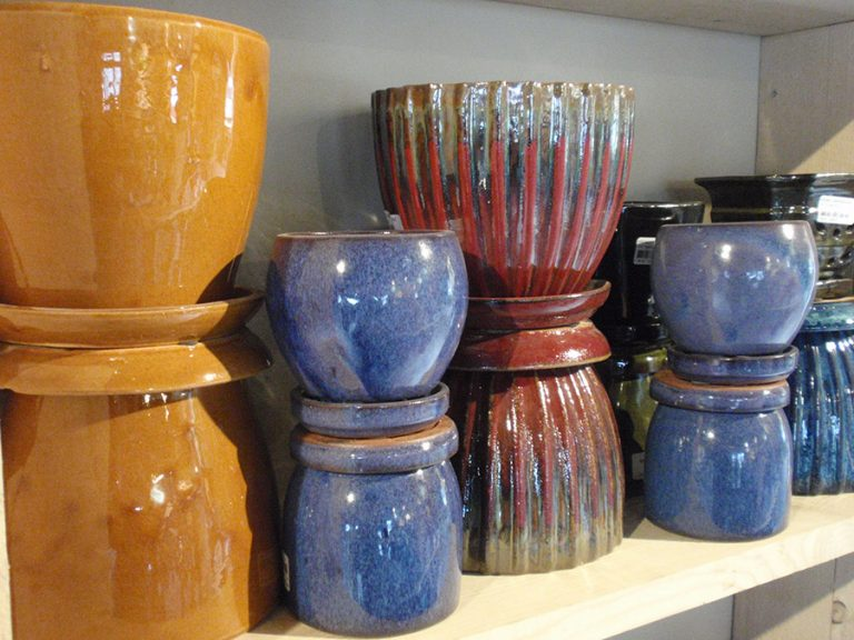 garden plants and pottery at Bremec Garden Centers