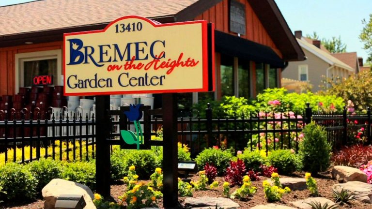 exterior of Bremec on the Heights Garden Center in Cleveland Heights