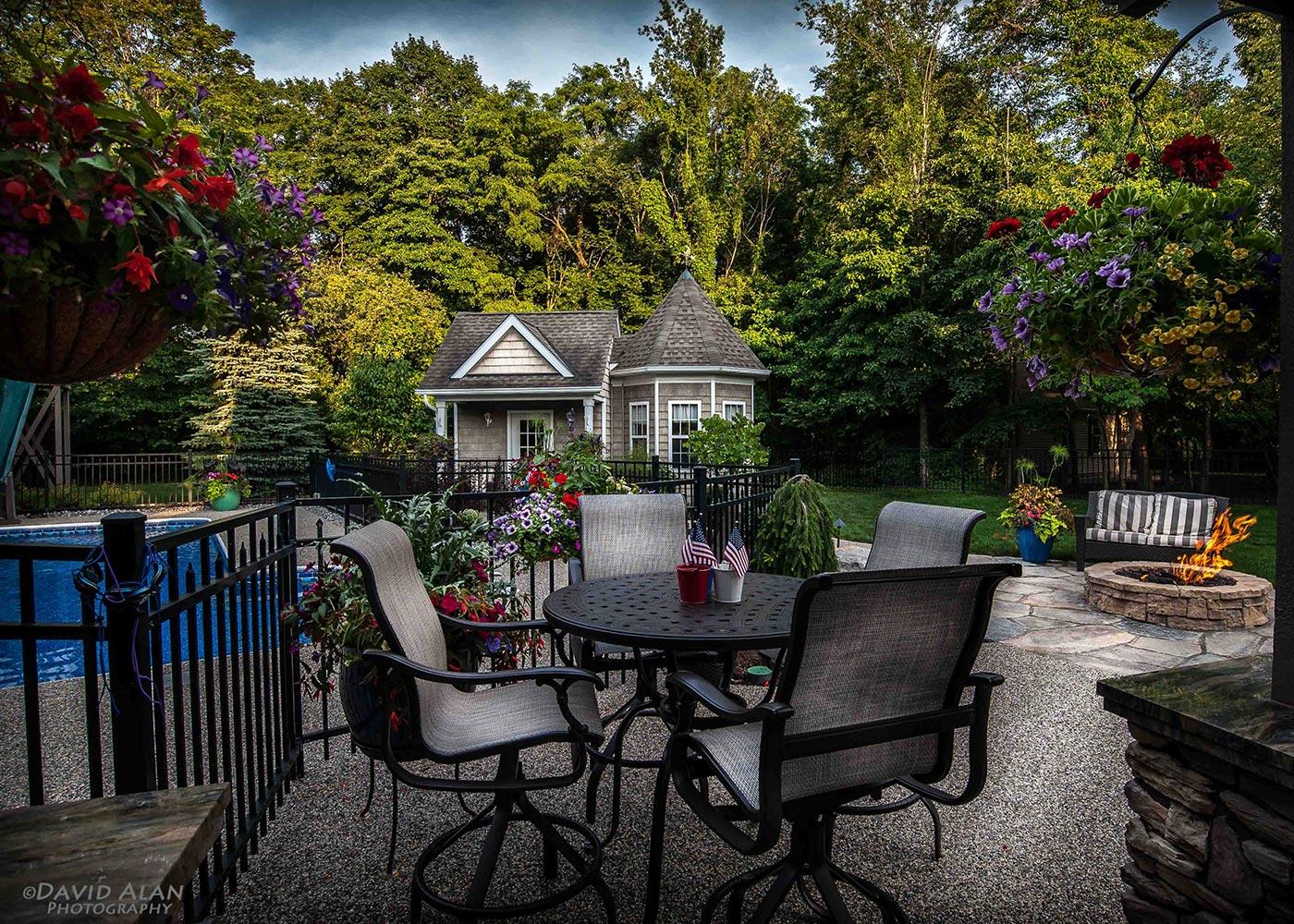 Outdoor Patio Landscape Design By The Bremec Group