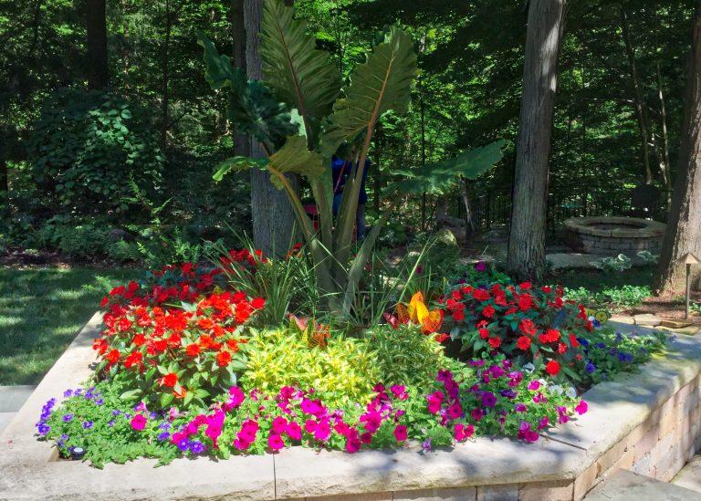 Landscape Design Flower Bed