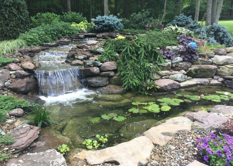 Waterfall and Landscape Design Company