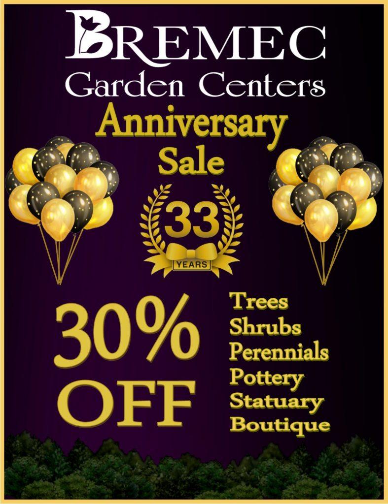 Bremec Anniversary Sale