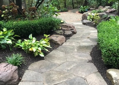 Landscape Design Walkway