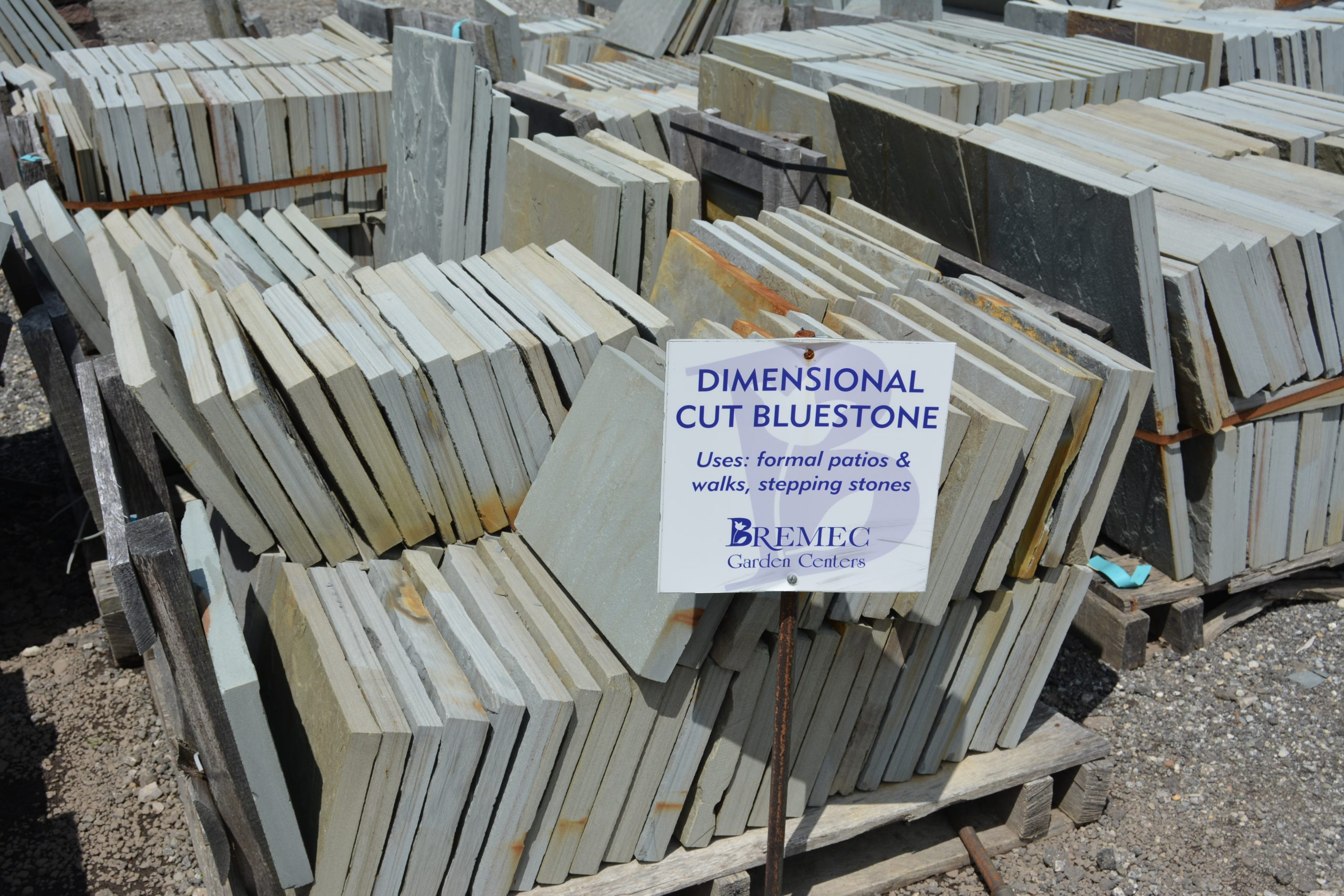 Dimensional Cut Bluestone