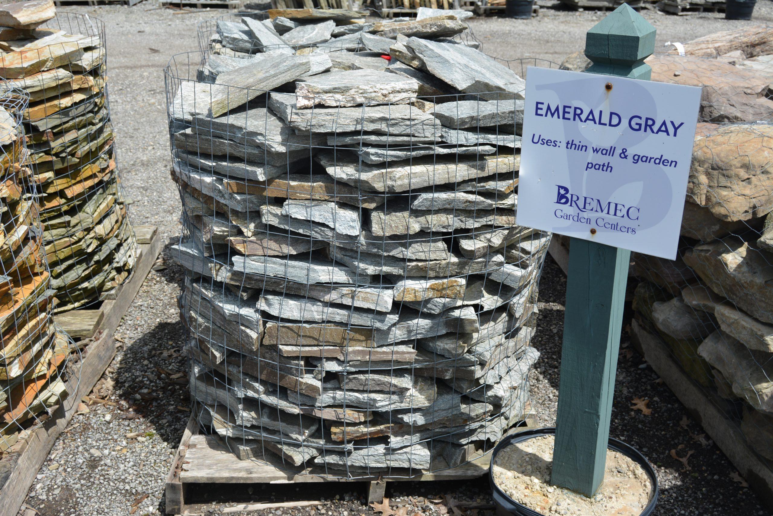 Emerald Gray Stone
