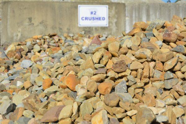 #2 Crushed Gravel