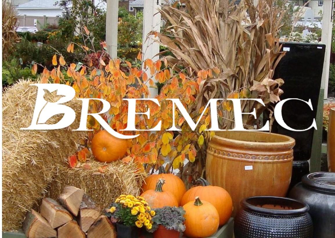 Bremec Autumn Decorating Contest